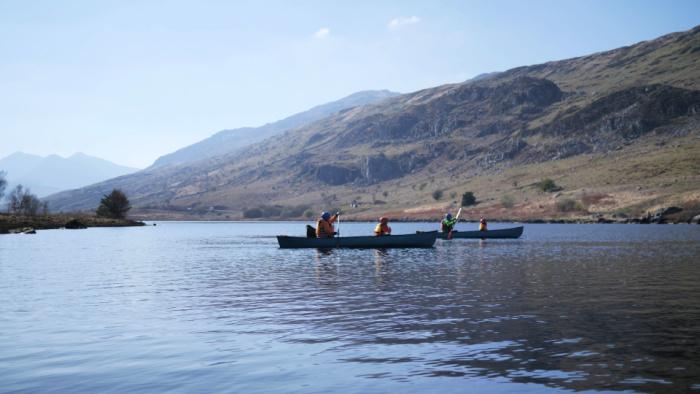 Plas y Brenin Canoe