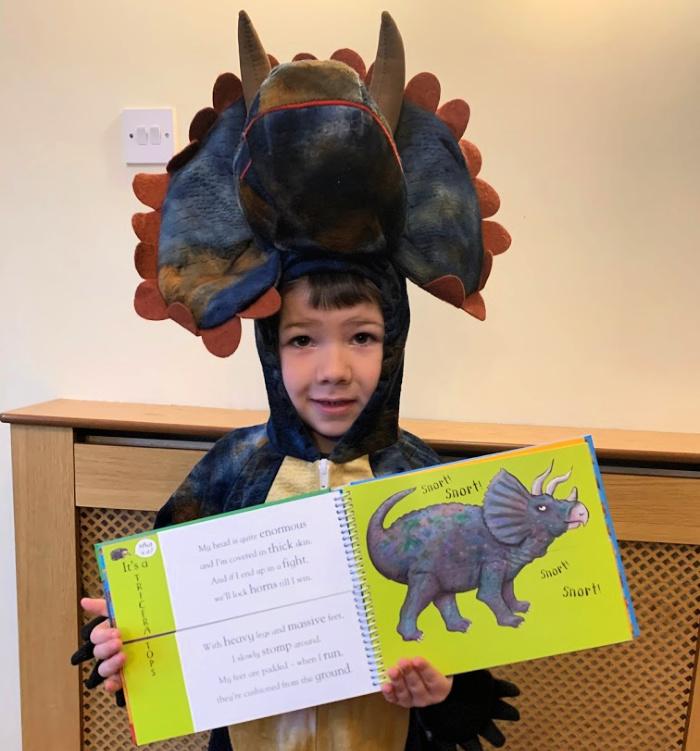 Sebby Dinosaur