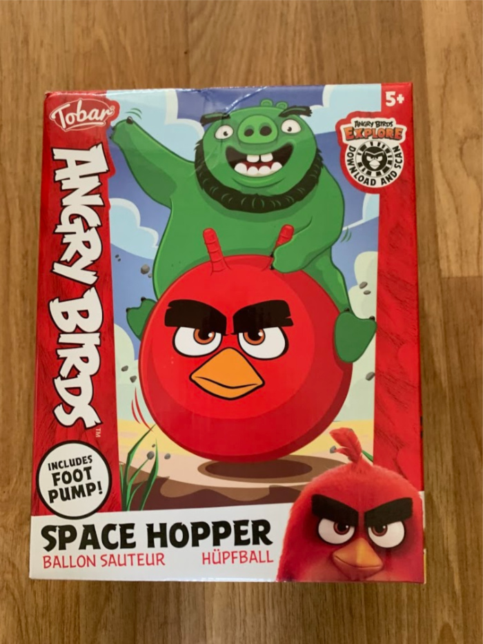 Red Hopper Box
