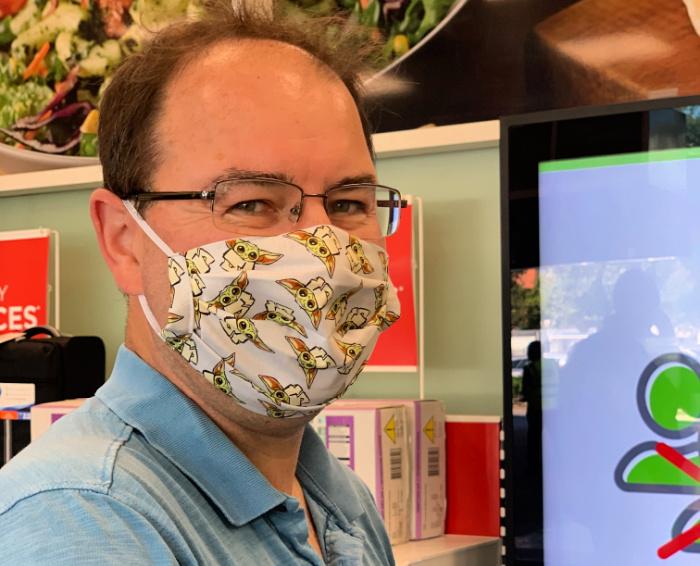 Hubby Yoda Mask