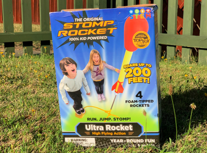 Stomp Rocket Box