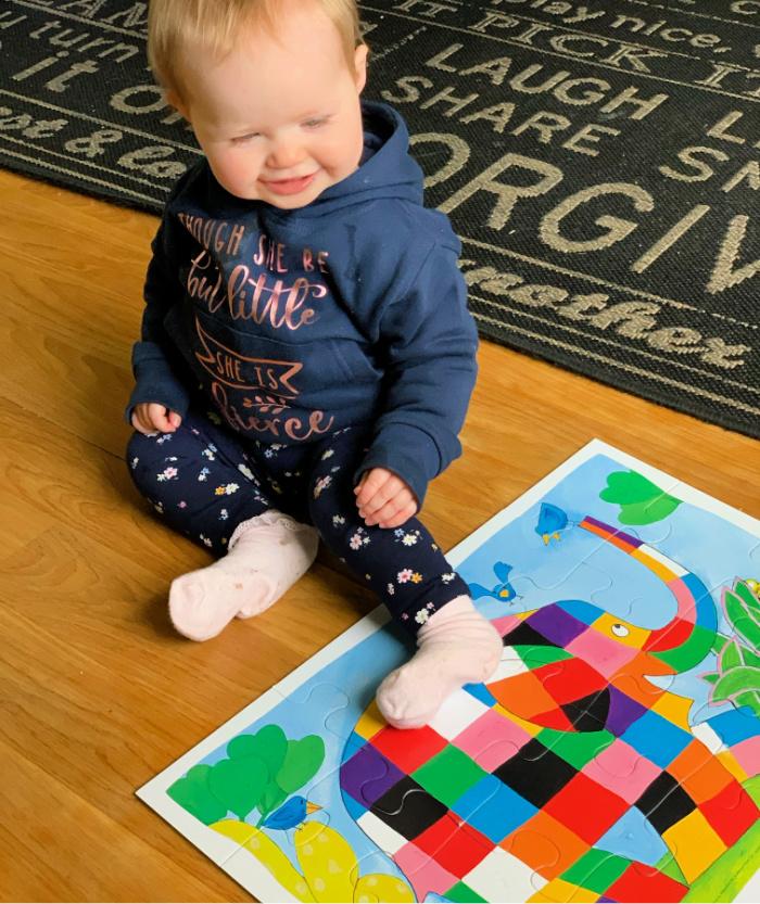 Elmer Puzzle Lilah