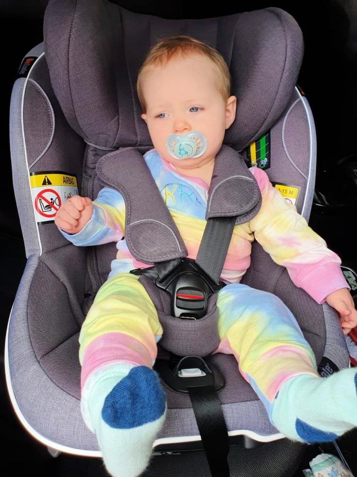 Lilah car seat