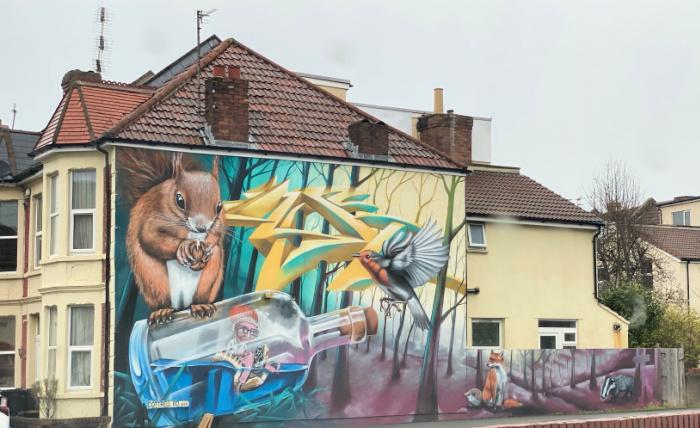 Bristol artwork
