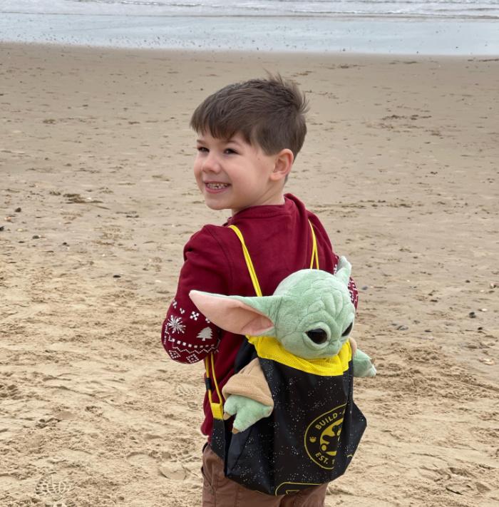 Baby Yoda Beach