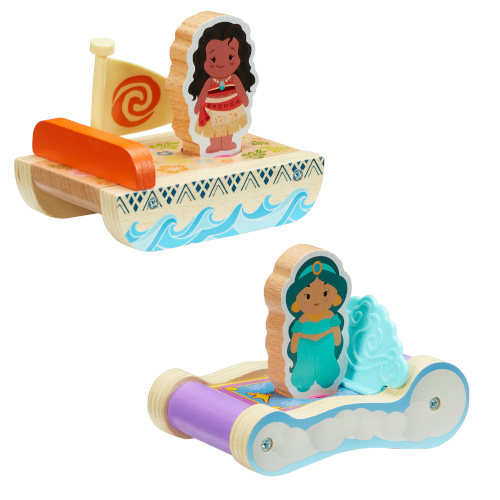 Disney Princess Wooden Toy Collection