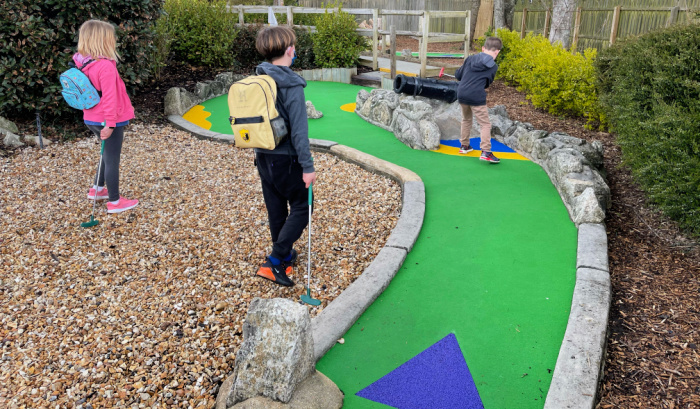 Pirate Adventure Mini Golf at Weymouth Sea Life Centre