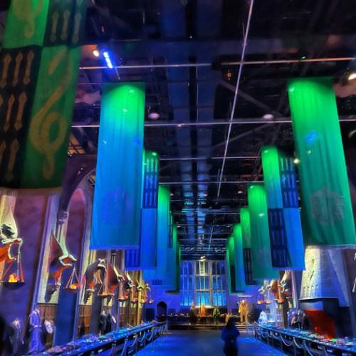 Review: Celebration of Slytherin At Warner Bros. Studio Tour London