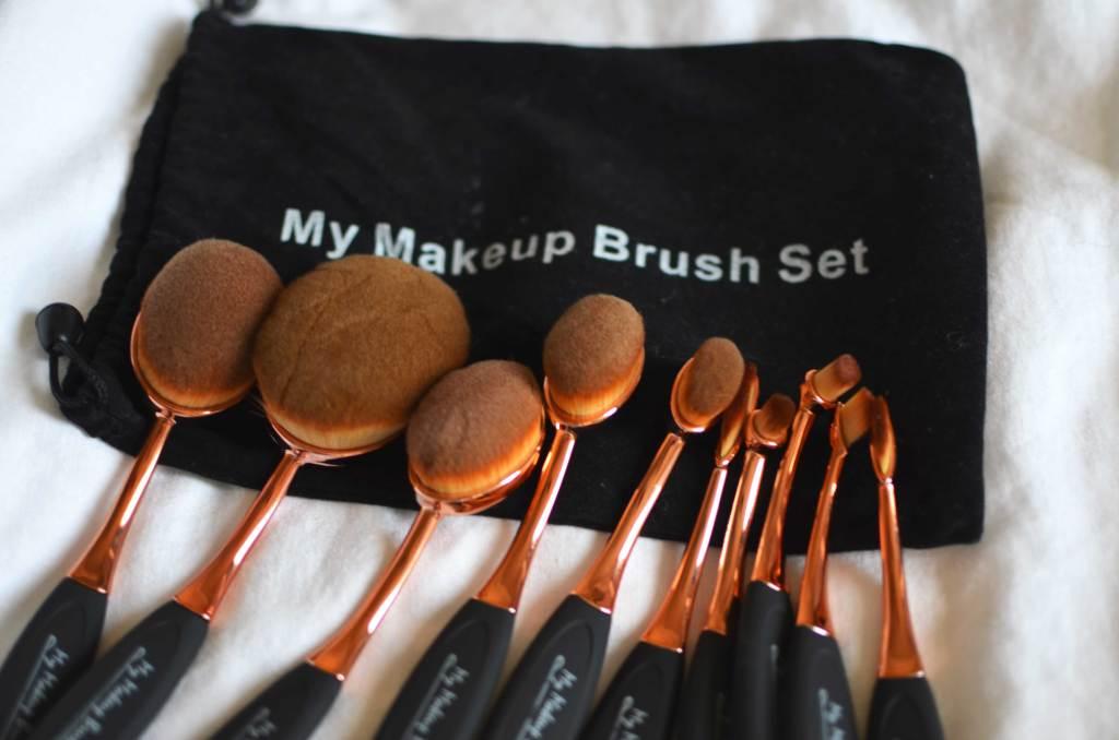 Chelsea + Morgan My Makeup Brush Set Review
