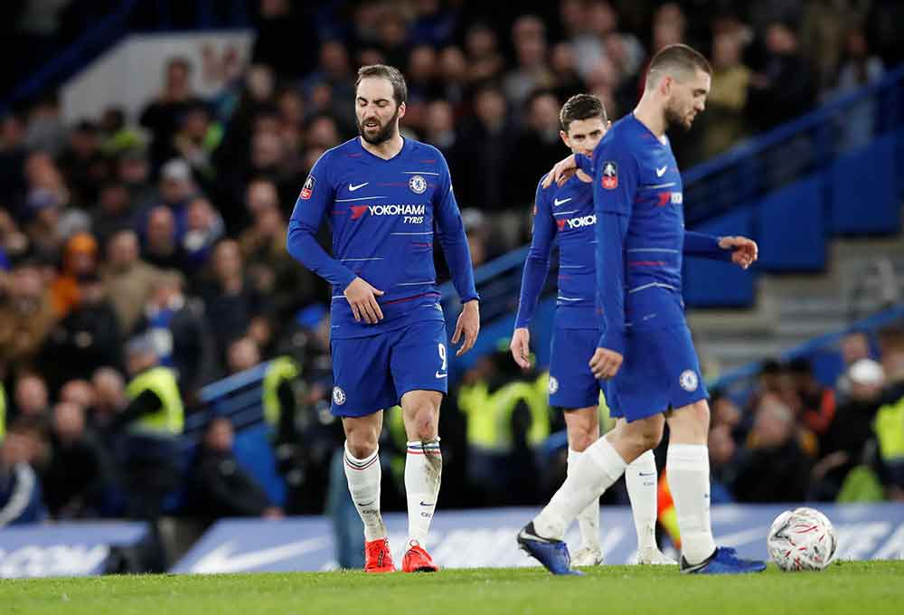 Chelsea's Predicted Line Up To Face Frankfurt: Kante Out And Emerson In For Alonso