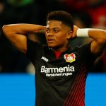 Bayer Leverkusen's Leon Bailey