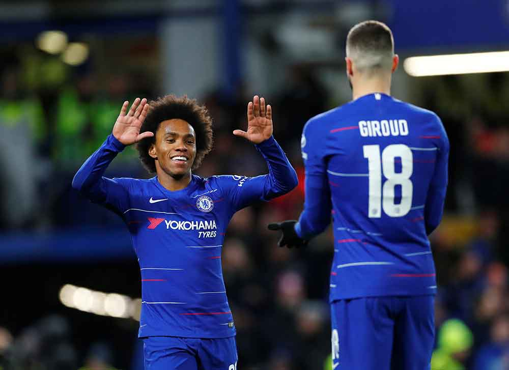 Latest Chelsea Injury Report: Updates On Willian, Kovacic, Kante And Gilmour