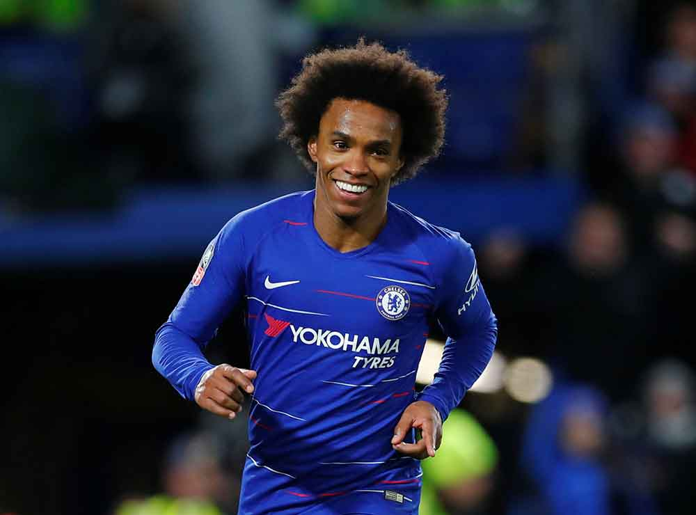 Willian And Pedro To Start, Barkley And Alonso Out: Chelsea's Predicted XI To Face Bournemouth