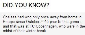 Fact vs Benfica