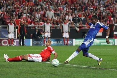 Kalou vs Benfica