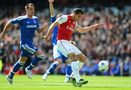 Persie1 vs Arsenal