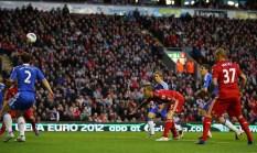 Agger vs Liverpool