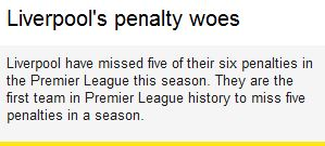 Fact vs Liverpool