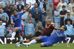 Frank+Lampard++vies+with+Nigel+de+Jong+and+Eden+Hazard+during+the+FA+Community+Shield+football+match+between+Chelsea+and+Manchester+City+at+Villa+Park+