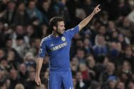 Chelsea's+Juan+Mata+celebrates+his+goal+against+Manchester+United