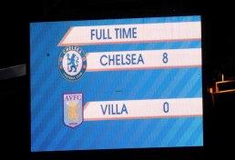 Chelsea 8 Aston Villa 0 (33)