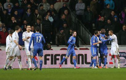 Swansea 0 Chelsea 0 (7)