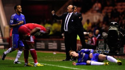 Middlesbrough 0 Chelsea 2 (1)