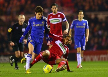Middlesbrough 0 Chelsea 2 (4)