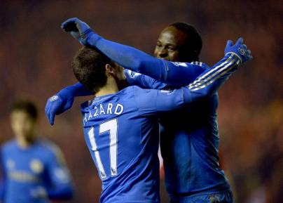 Middlesbrough 0 Chelsea 2 (6)