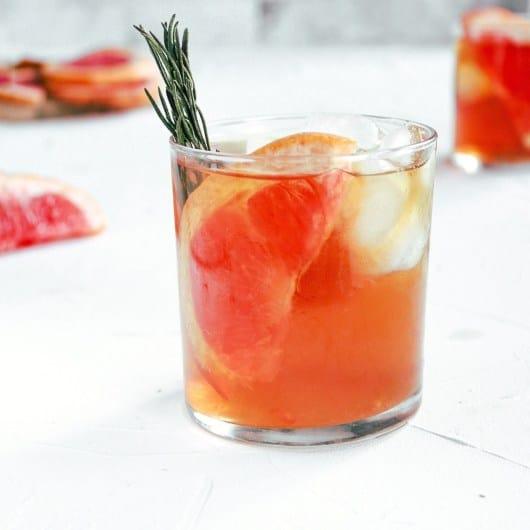 Grapefruit Bourbon Ice Tea
