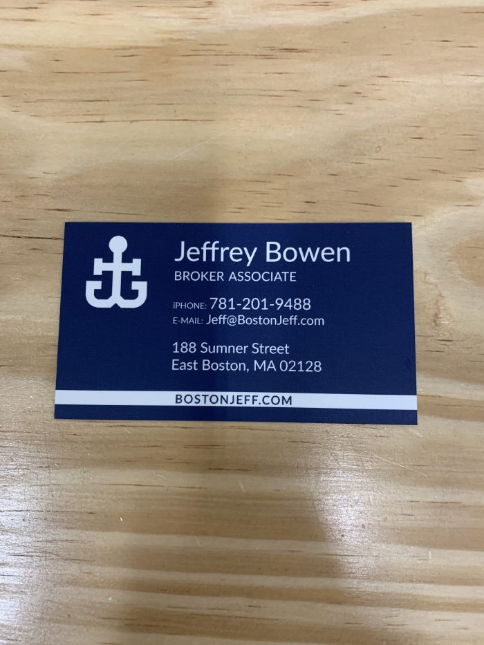 Jeffrey Bowen of Boston Harbor Real Estate