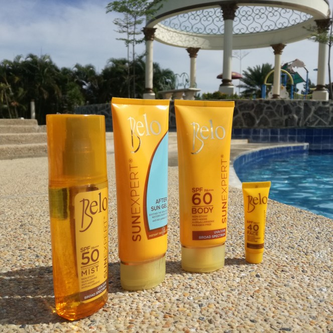 Trust your sunkissed skin with Belo Sunexpert!