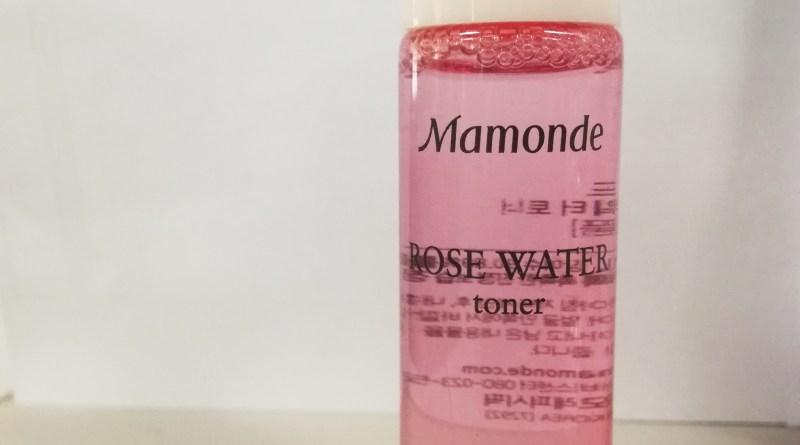 Mamonde Rose Water Toner (sample size)