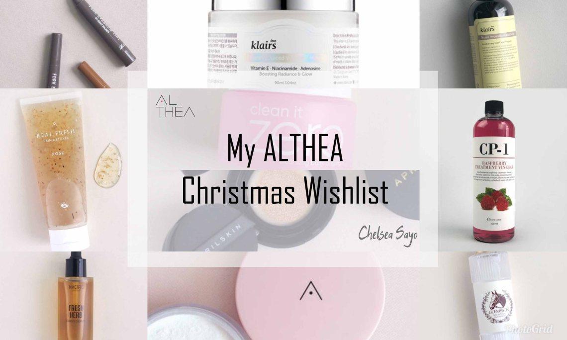 My Althea Christmas Wishlist