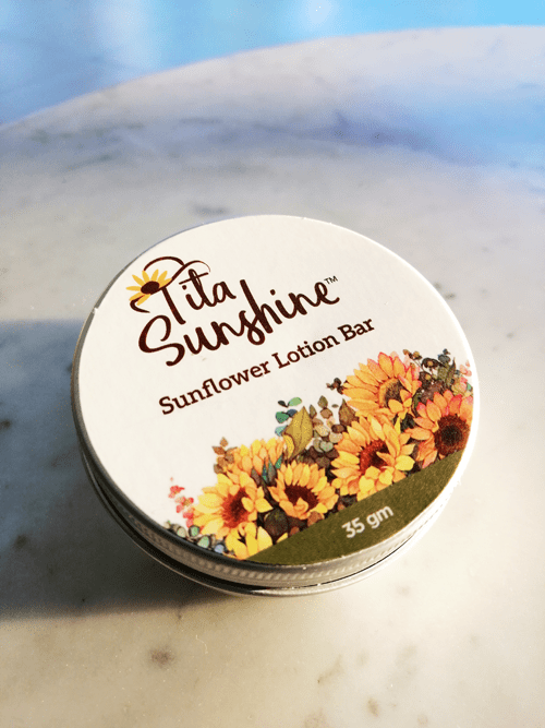 SUNFLOWER LOTION BAR
