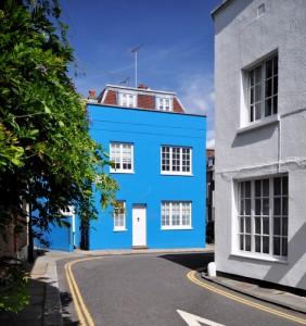 Chelsea cottage, hardly a mansion