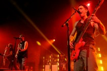Alex Gaskarth and Zack Merrick | All Time Low | Memphis, TN | New Daisy Theatre | April 4, 2014