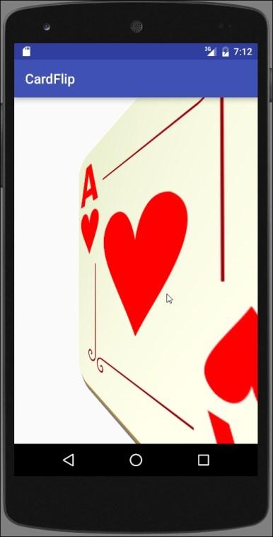 card flip