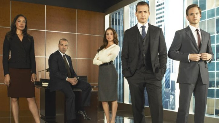 This is a photo from the TV show Suits.