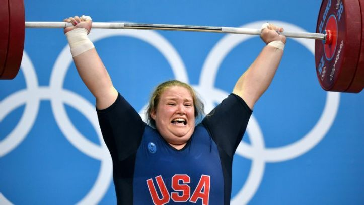 Holley Mangold, U.S. Olympian Weightlifter
