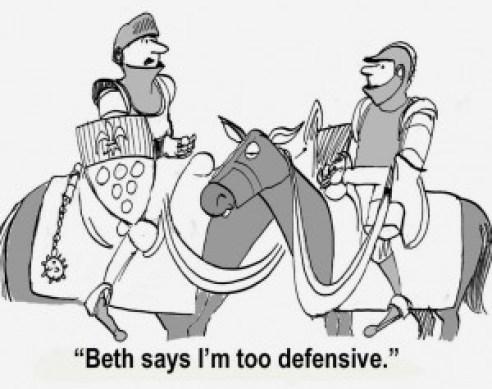 defensive