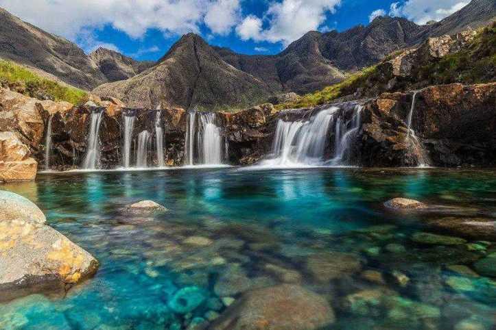 Fairy Pools, Isle of Skye, Scotland (photo by Aanchal Karnwall)