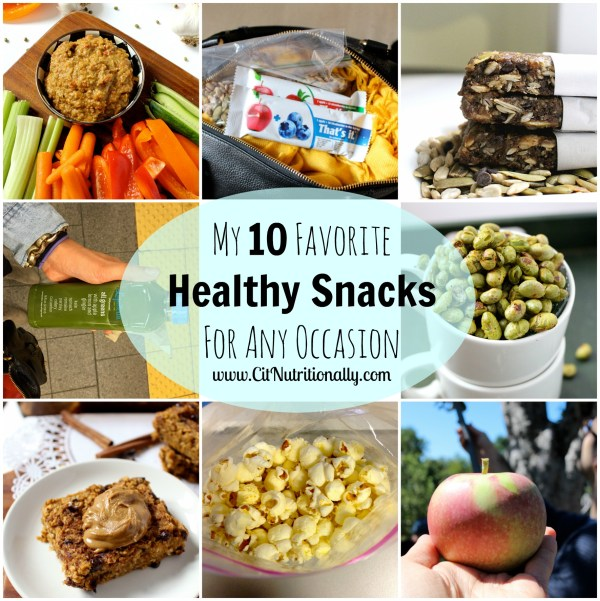 My 10 Favorite Healthy Snacks For Any Occasion…New Years ...