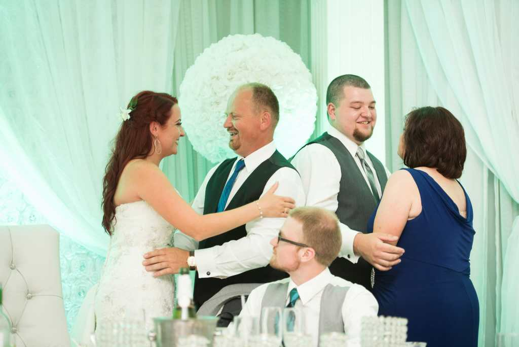 wedding reception at carmens banquet centre