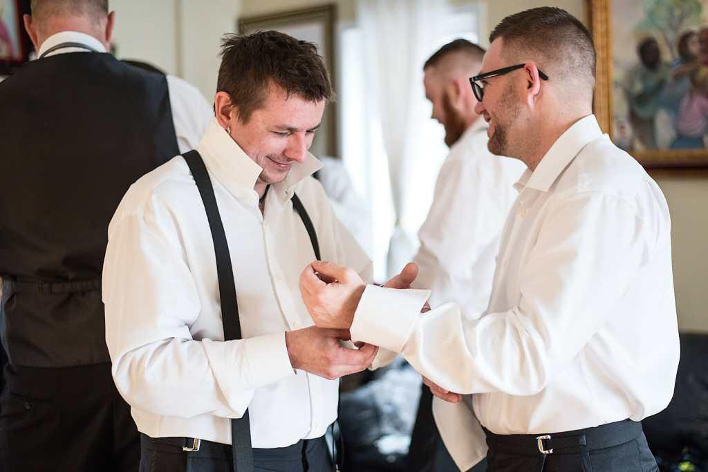 groom getting ready photos vaughn