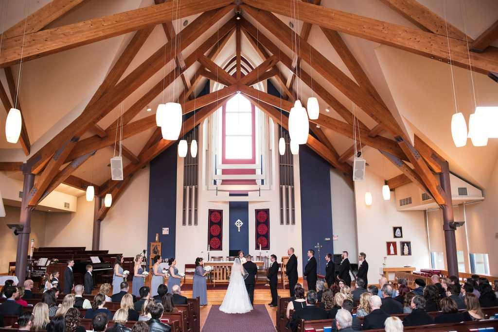 trinity Anglican church wedding aurora