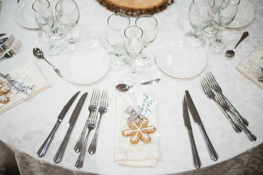 hazelton manor table setting
