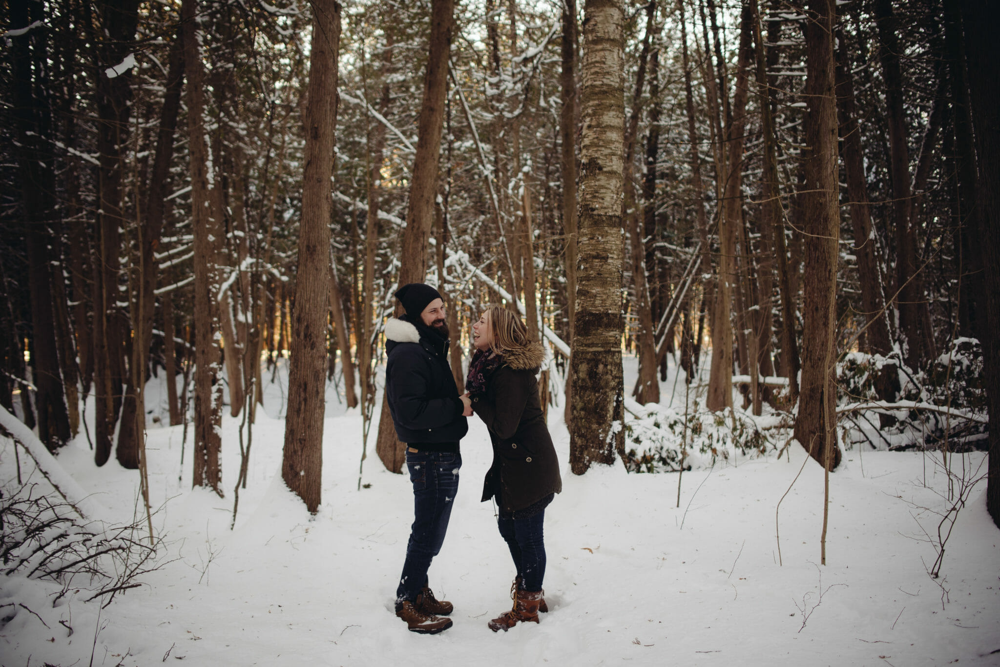 couple laughs together in greenwood ajax