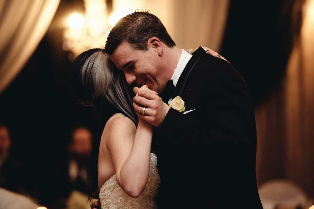 first dance at newcastle community hall wedding