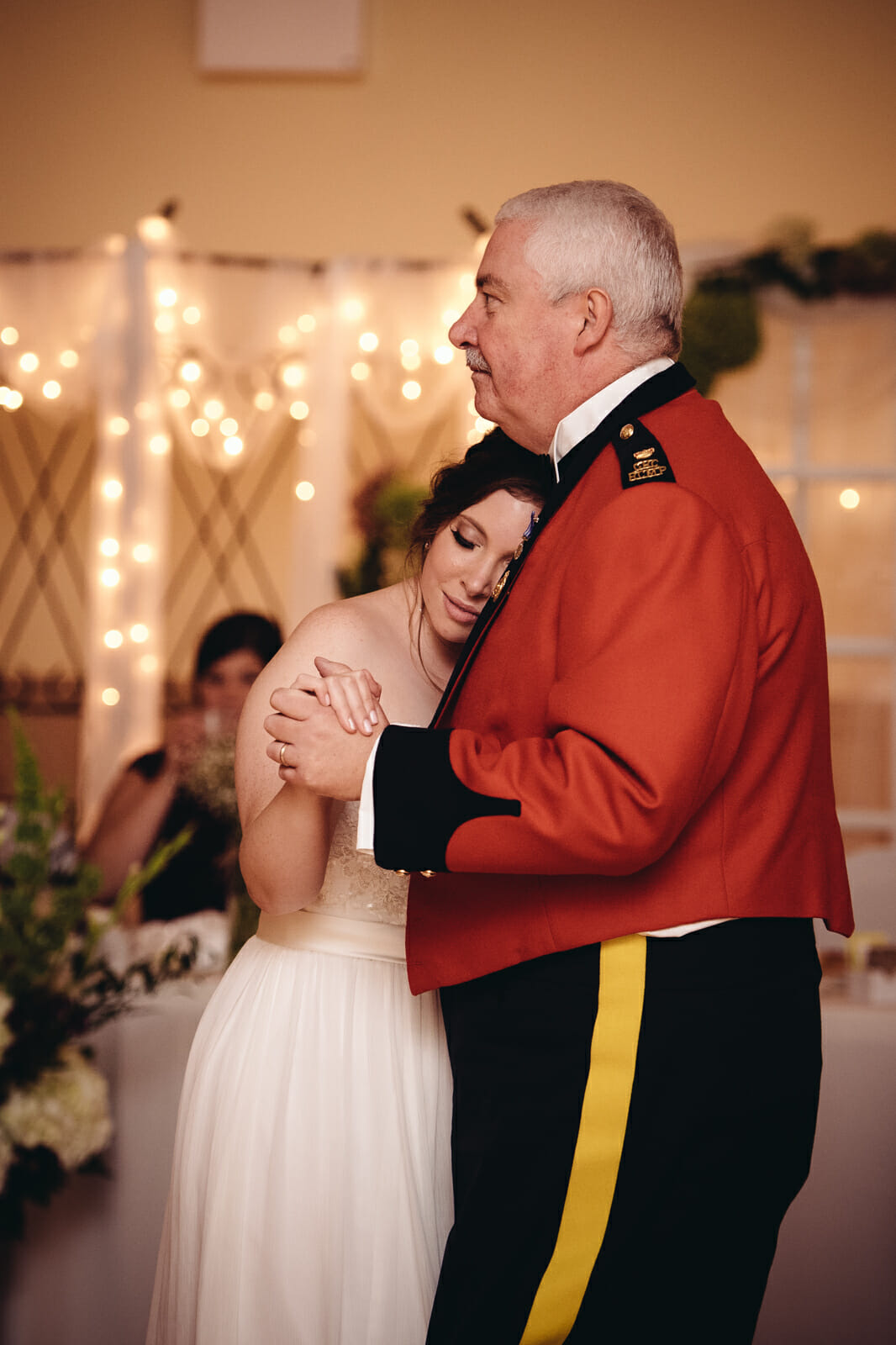 father daughter dance st leo church wedding